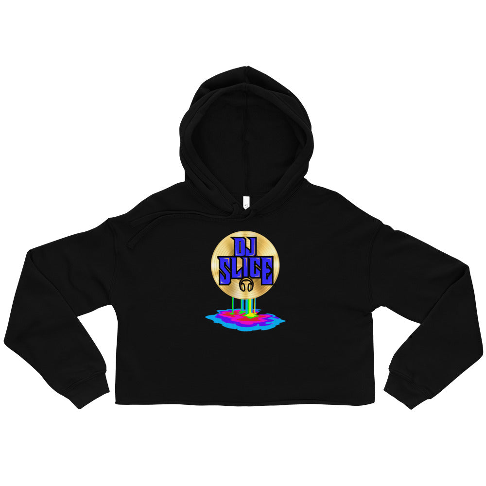 DJ SLICE Women's Cropped Hoodie - Beats 4 Hope