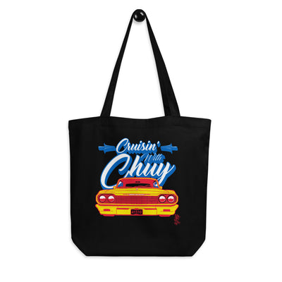 CRUISIN WITH CHUY Tote Bag - Beats 4 Hope