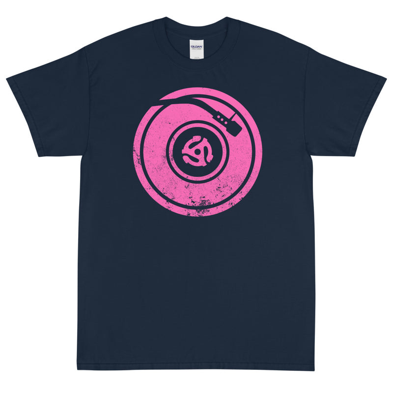 TURNTABLE THINK PINK Men's X T-Shirt