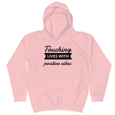 TOUCHING LIVES WITH POSITIVE VIBES - YOUTH Hoodie - Beats 4 Hope