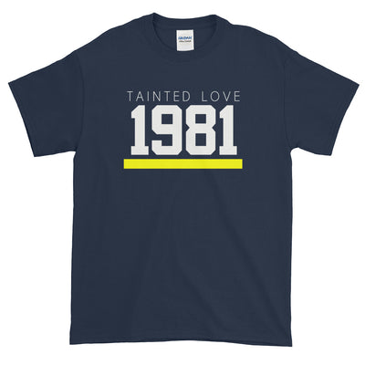 1981 TAINTED LOVE MEN'S X T-Shirt - Beats 4 Hope