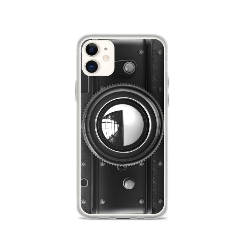 VINTAGE BLACK CAMERA iPhone Case & Cover