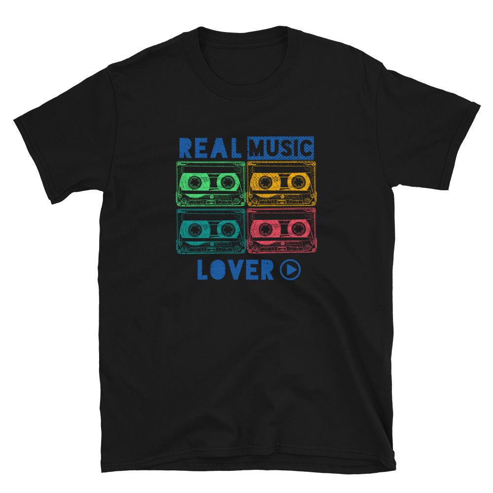 REAL MUSIC LOVER CASSETTE TEE