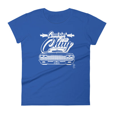 CRUISIN WITH CHUY - CLASSIC - Women's T-Shirt - Beats 4 Hope
