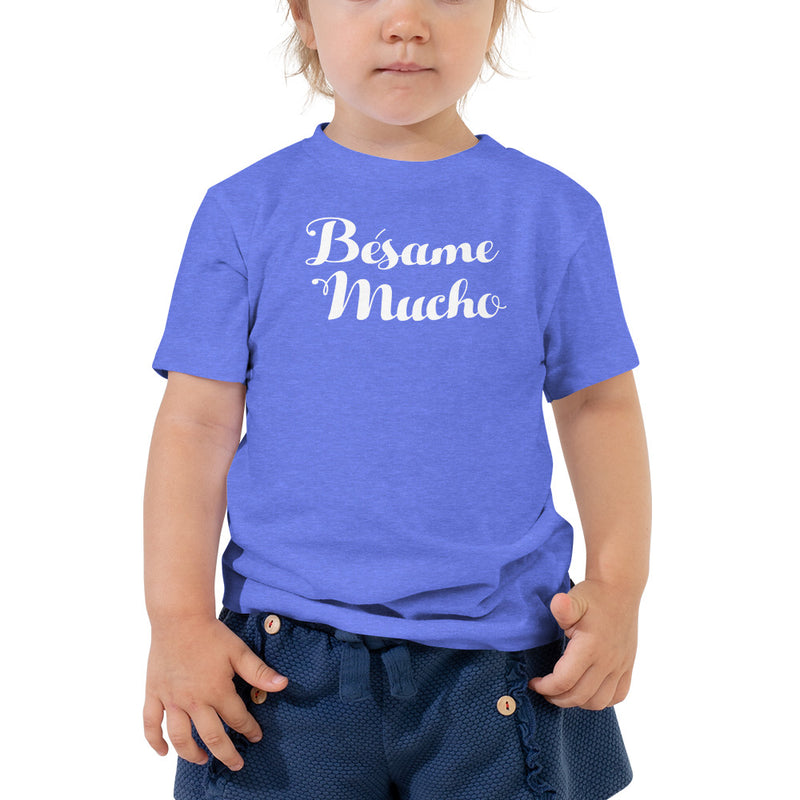 Bésame Mucho - Toddler Short Sleeve T-Shirt - Beats 4 Hope