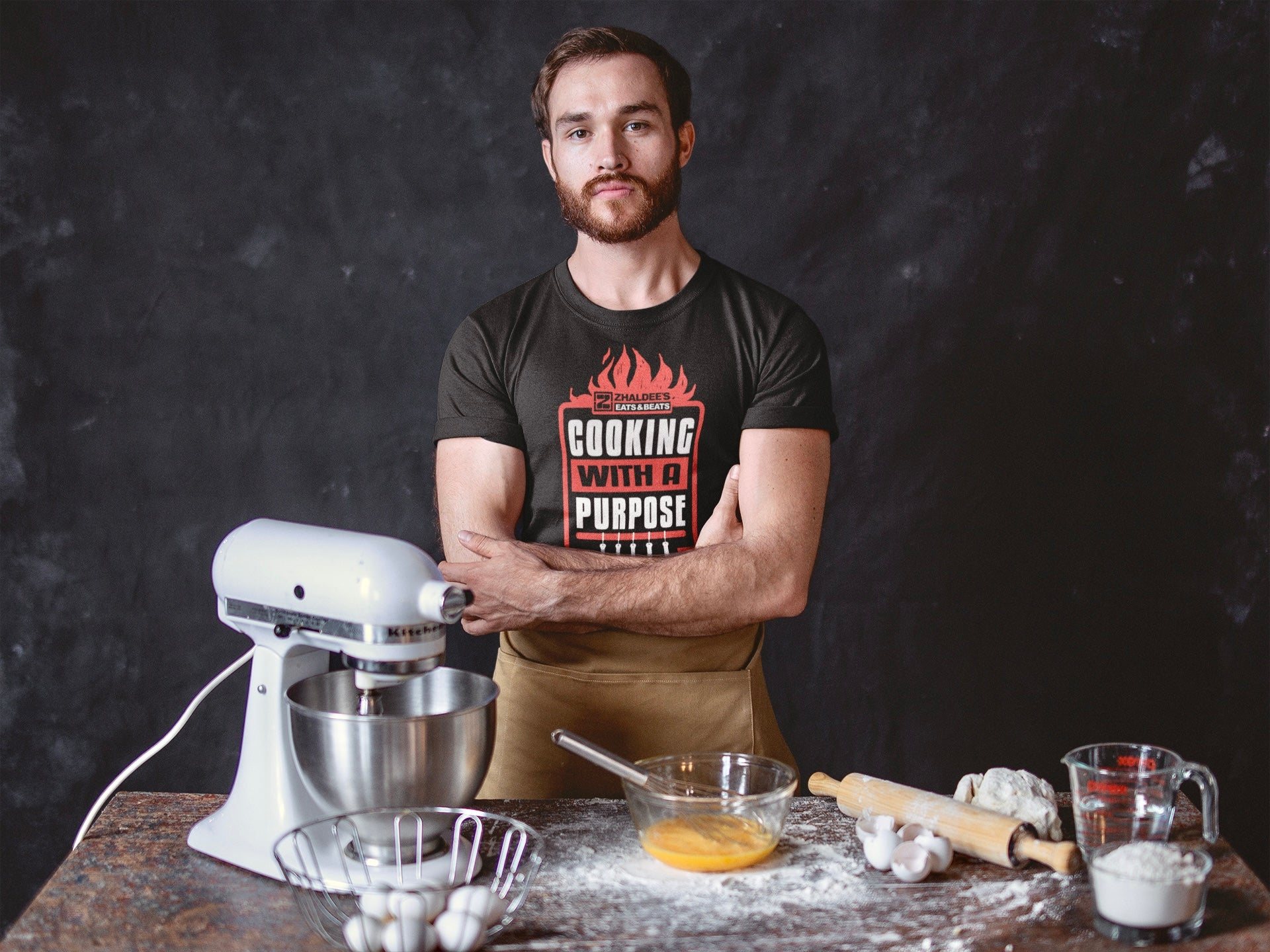 COOKING WITH A PURPOSE Unisex T-Shirt