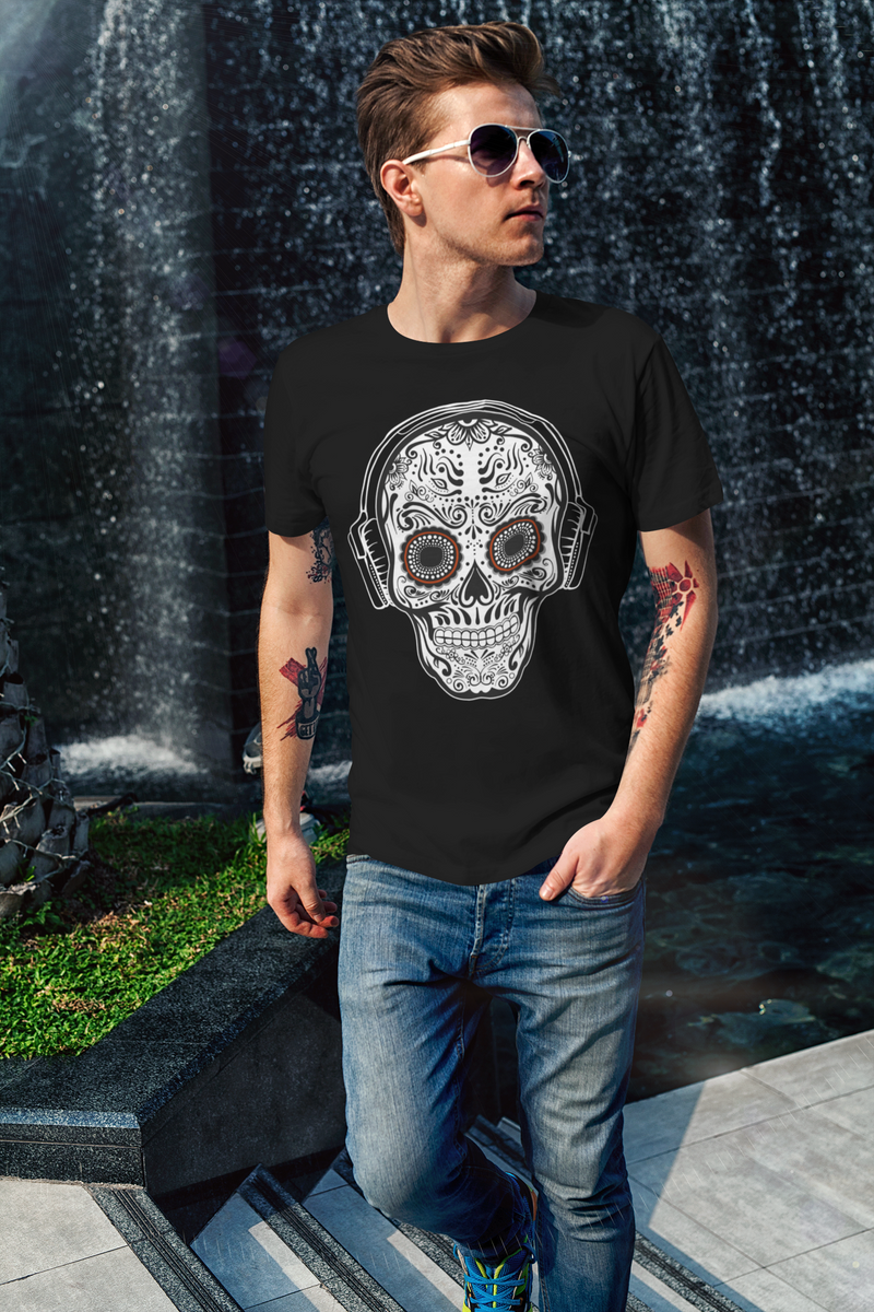 SUGAR SKULL BEATS Unisex T-Shirt