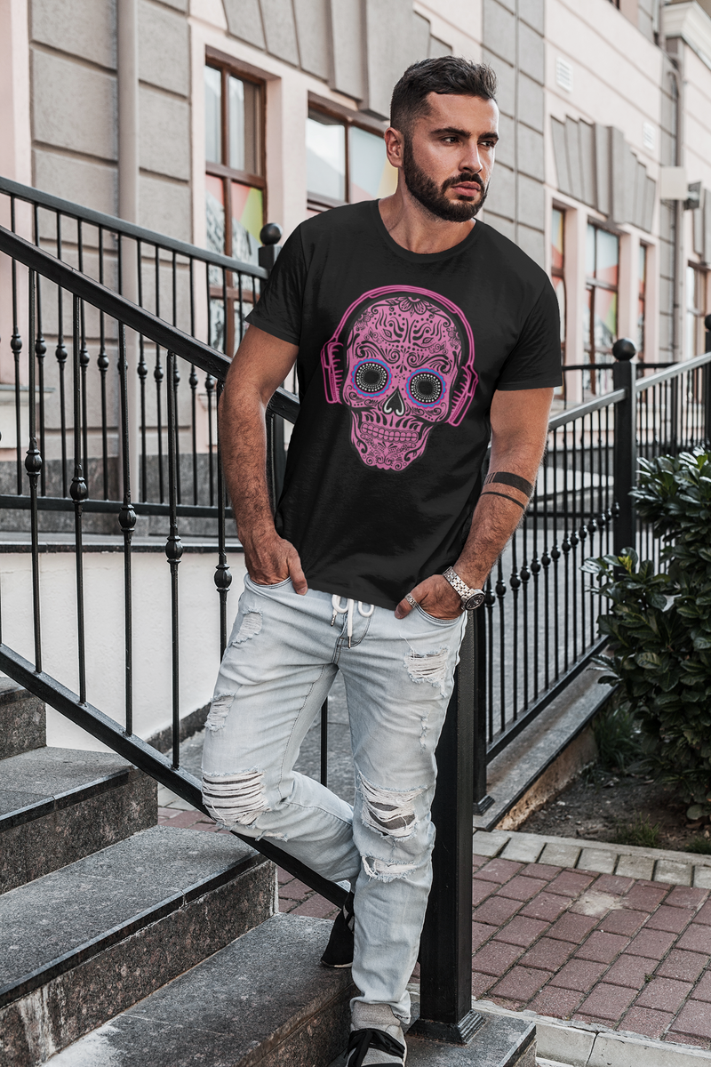 THINK PINK MEN'S X SKULL T-Shirt