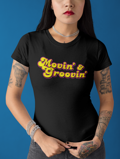 MOVIN' & GROOVIN' T-Shirt - Beats 4 Hope