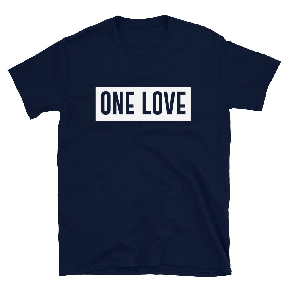 ONE LOVE - Short-Sleeve Unisex T-Shirt