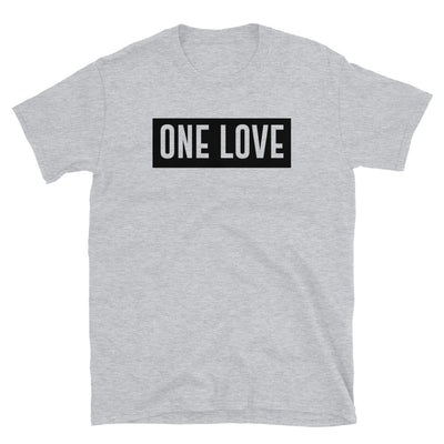 ONE LOVE - Short-Sleeve Unisex T-Shirt - Beats 4 Hope