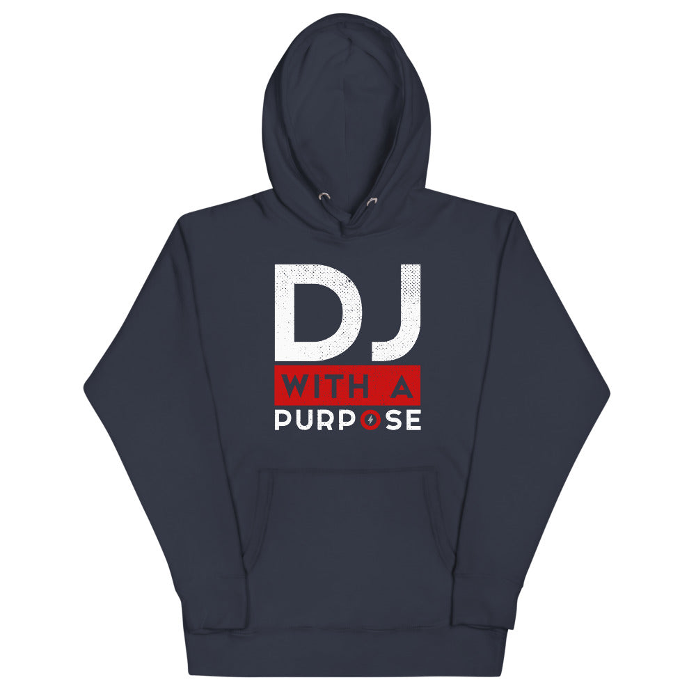 DJ WITH A PURPOSE - AUDIO1 Supreme Hoodie