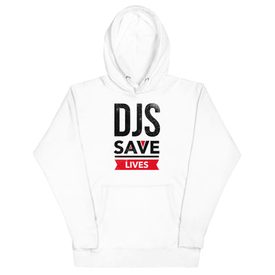 DJS SAVES LIVES - Unisex Hoodie - Beats 4 Hope