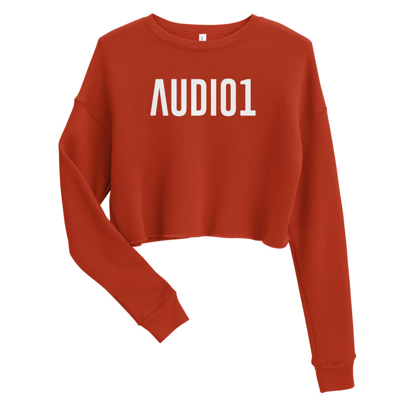 AUDIO1 Crop Sweatshirt