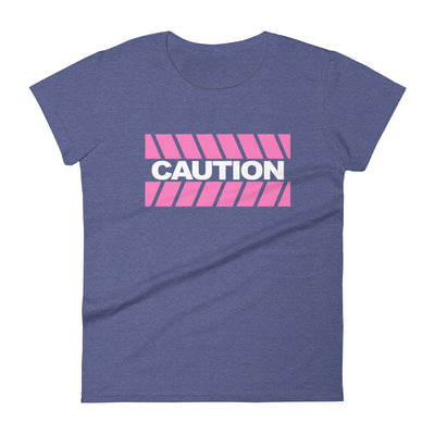 CAUTION It's Heavy Women's Pink T-Shirt( - Beats 4 Hope