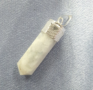 Moonstone Capped Pendant