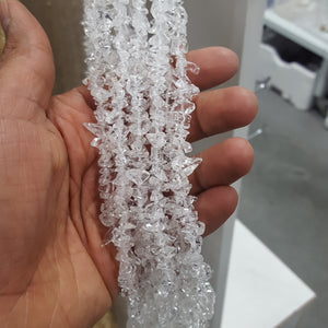 Clear Quartz Chips Strand