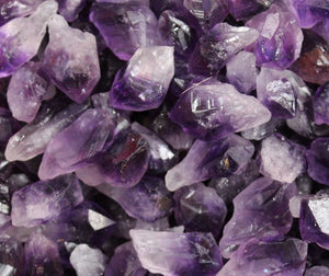 Amethyst Natural Points - 200g