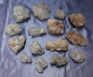 Apophyllite/Stillbite Pack -  15pc
