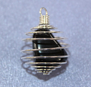 Spiral Cage with Black Onyx