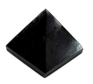 Black Tourmaline Pyramid Large