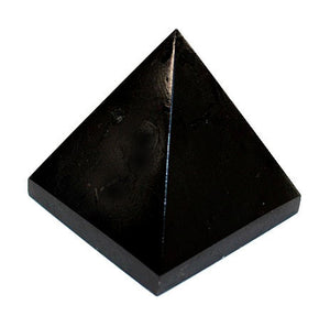 Black Tourmaline Pyramid Medium
