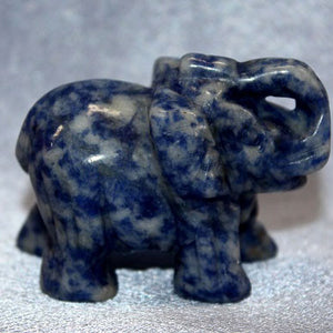 Medium Sodalite Elephant
