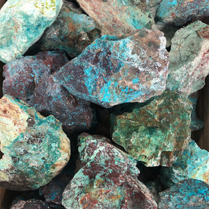 Chrysocolla Rough 1pc