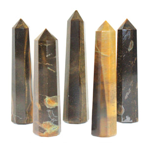 Tigers Eye Obelisk Large 1pc