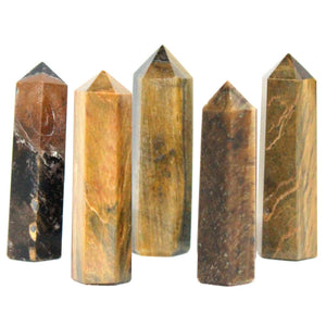 Tigers Eye Obelisk Small 1pc