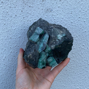 Emerald Cluster (Raw/Polished) E4
