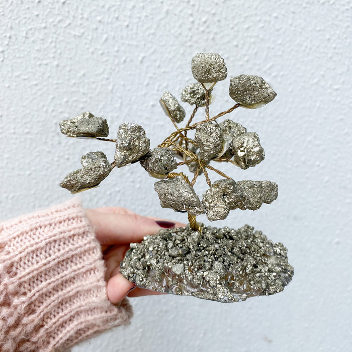 Pyrite Bonsai Tree -Small