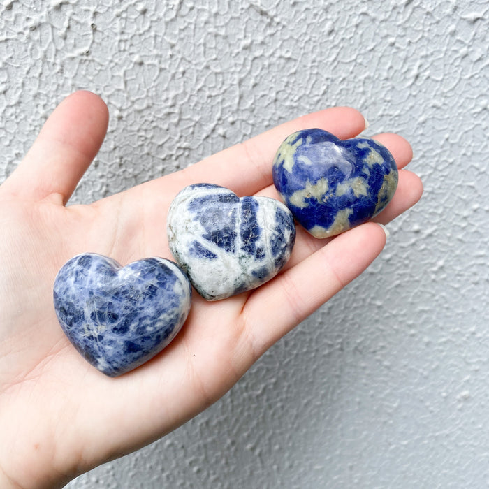 Sodalite Heart - 1pc