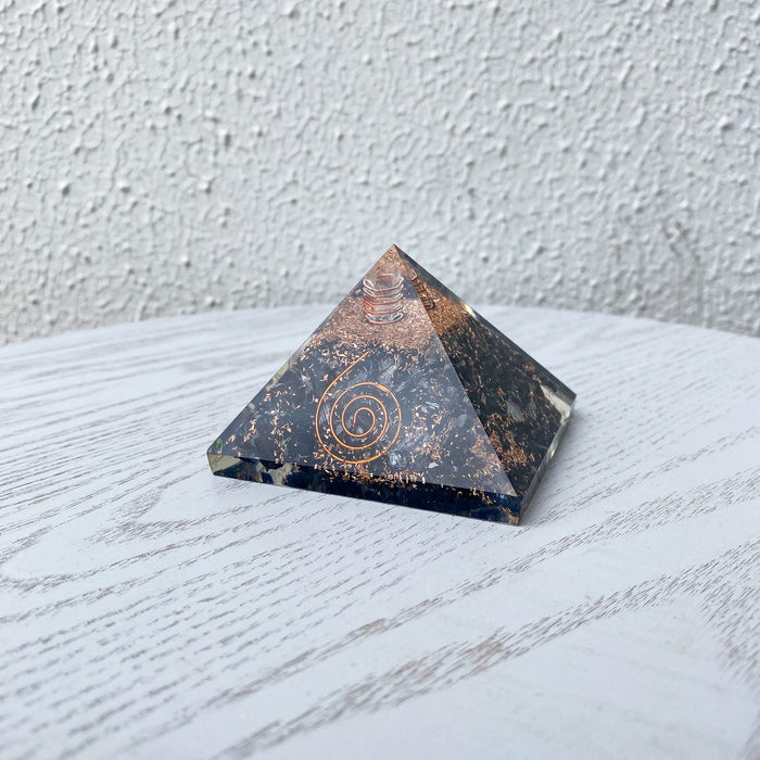 Orgonite Pyramid -Black Tourmaline