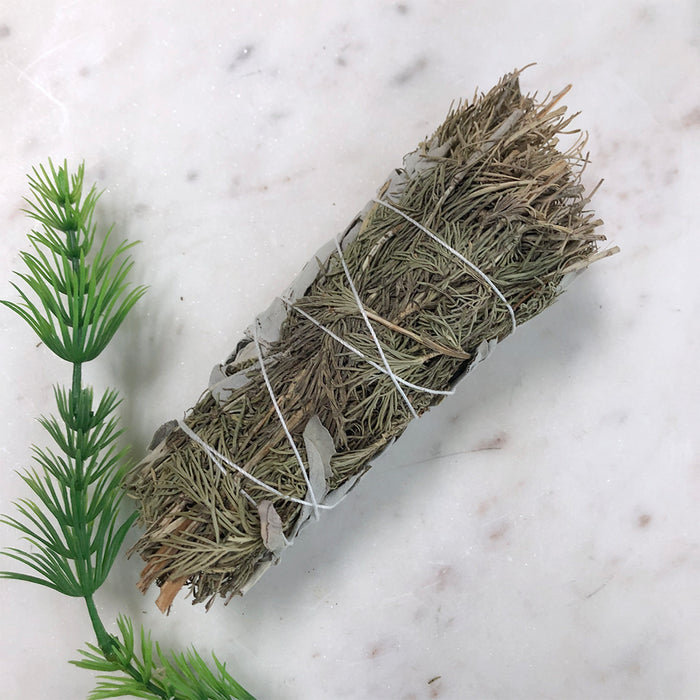 White Sage & Rosemary Smudge - Medium