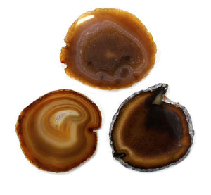Agate Slice Natural Large 1pc