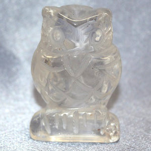 Owl Clear Quartz
