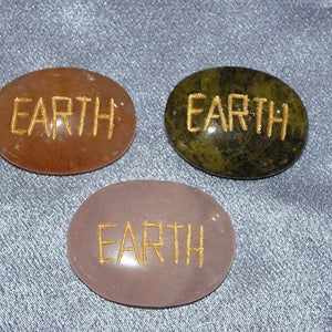 Affirmation Stone Earth  1pc