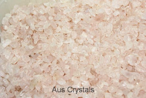 Rose Quartz Chips 250gm