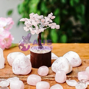 Rose Quartz Tree - Fairy Size