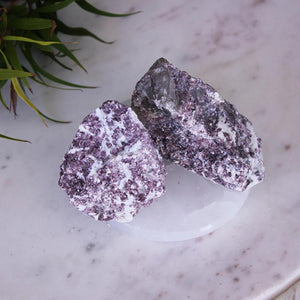 Lepidolite Rough (Small & Large)