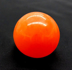 Selenite Sphere Orange 5cm