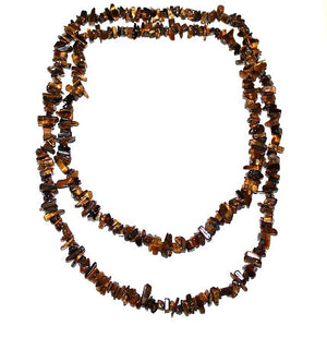 Tigers Eye Chip Necklace