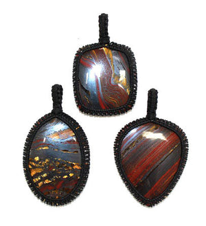 Tigers Iron Thread Pendant - 1pc