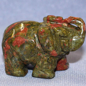 Medium Unakite Elephant