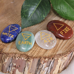 4 Element Palm Stone Pack