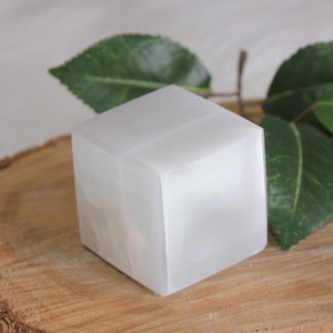Selenite Charging Cubes