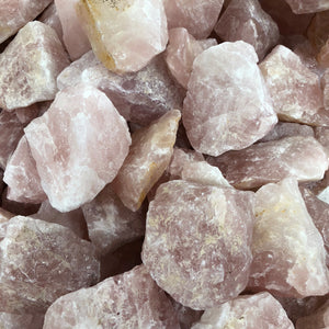 Rose Quartz Rough B grade 1kg
