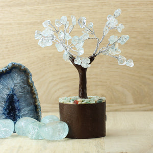 Blue Quartz Tree - Fairy Size
