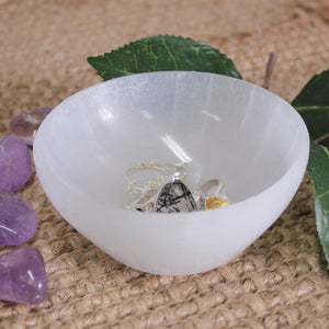 Selenite Charging Bowl - Small